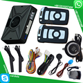 car auto start stop button keyless entry car security alarm system with smart anti robbery feature bypass output