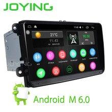 2 Din Android 6.0 car Audio radio GPS volante Estéreo unidad principal para volkswagen vw touran skoda polo golf passat cc JETTA