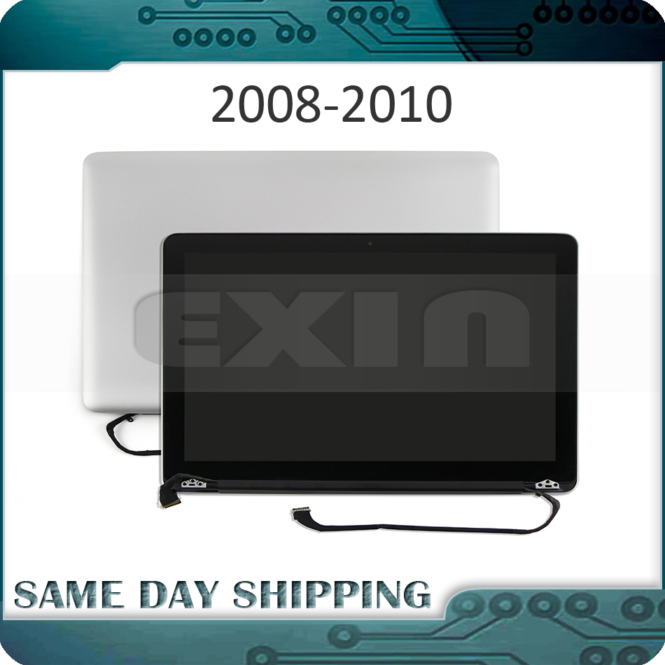 New Complete Display Assembly for MacBook Pro 13 A1278 LCD LED Full Screen Assembly 661-5232 661-4820 2008 2009 2010 Year genuine grade a laptop lp171wu6 tla1 17 1 led lcd screen glossy for macbook pro 17 lcd display 2009 2011 year full tested