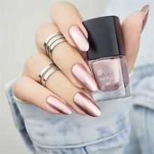 Colorful Pink Silver Gold Mirror Metallic Nail Polish Metallic Nail Lacquer Mirror Effect