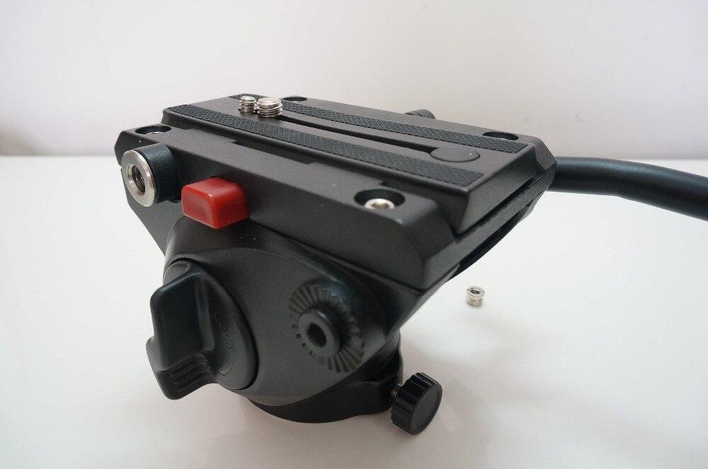 Tête fluide Pour trépied de caméra Monopode Professionnel Rotule En Aluminium Tête Vidéo 360 Caméra Panorama PTZ