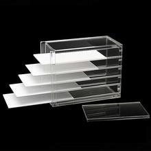 Коробка для хранения ресниц 10 слоев органайзер для макияжа накладные ресницы клей поддон держатель Прививка ресниц инструмент для наращивания макияжа