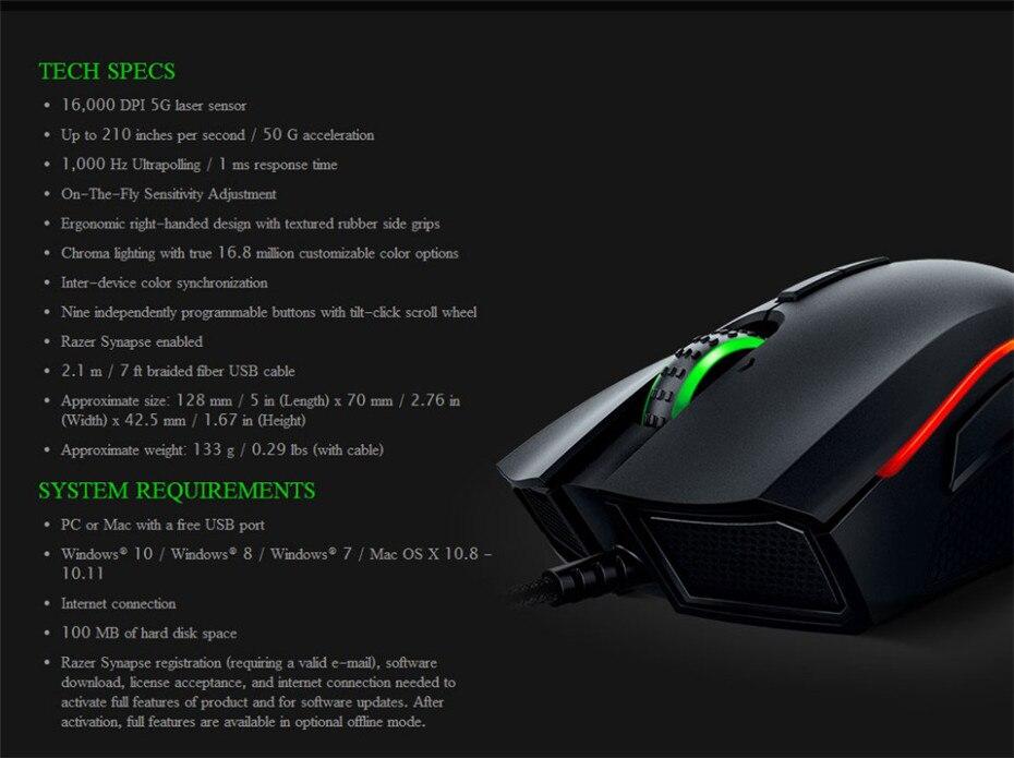 Razer Tartarus V2 Chroma Mecha Membrane Wired Gaming Keypad