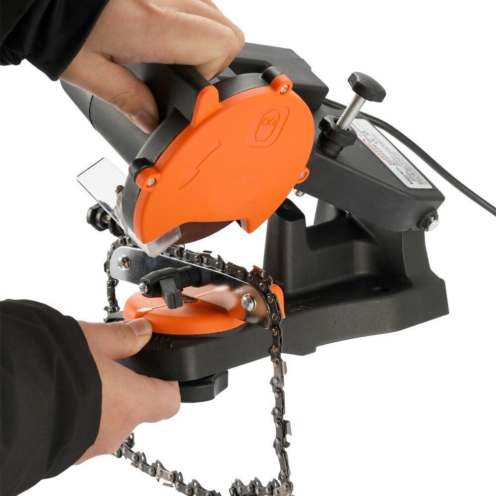 4800 об/мин Портативный электрический точилка для цепной пилы шлифовальный станок садовые инструменты для домашнего и промышленного использования|Точильные камни|   | АлиЭкспресс