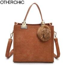 OTHERCHIC Heißer Verkauf Wildleder Taschen Frauen Marke Designer Tote Frauen Schulter Messenger Bags L-7N07-05