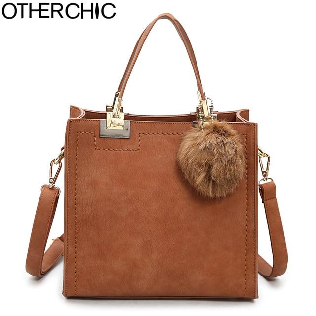 OTHERCHIC Hot Sale Suede Leather Bags Women Brand Designer Handbags High Quality Tote Women Shoulder Messenger Bags L-7N07-05