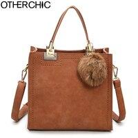 OTHERCHIC Hot Sale Suede Leather Bags Women Brand Designer Handbags High Quality Tote Women Shoulder Messenger
