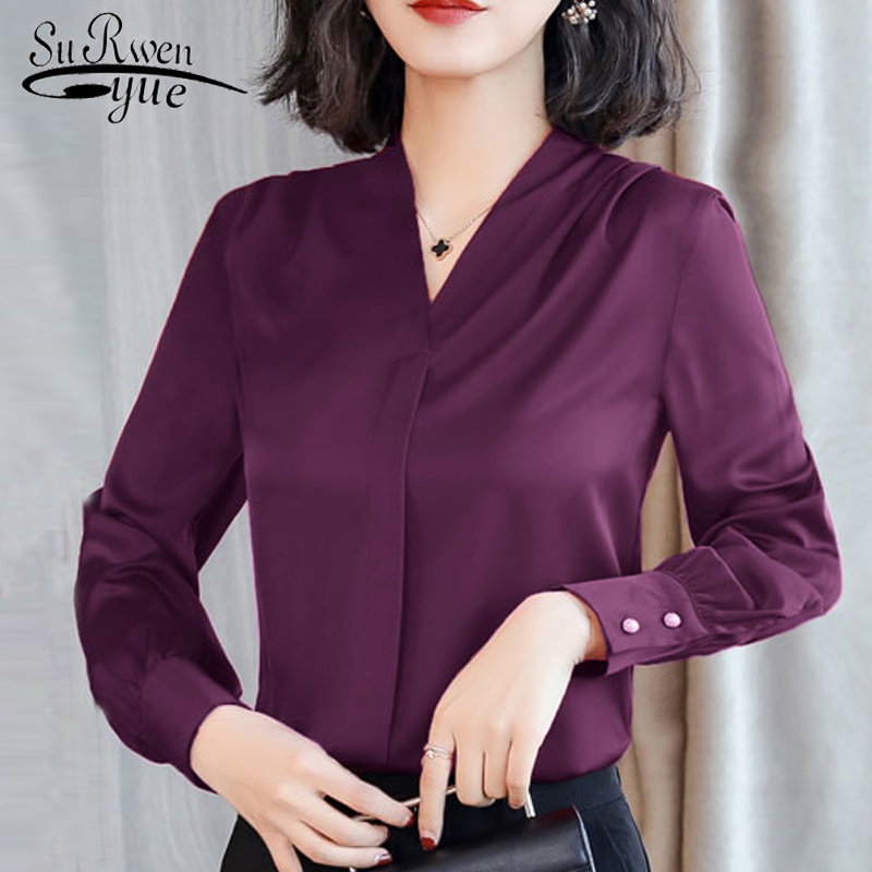 womens tops and   blouses   Chiffon   blouse     shirt   long sleeve women   shirts   fashion spring 2019 plus size office   blouse   women 1779 50
