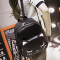 Women Backpack High Quality PU Leather School Bags For Teenagers Girls Top-handle Backpacks Herald Fashion