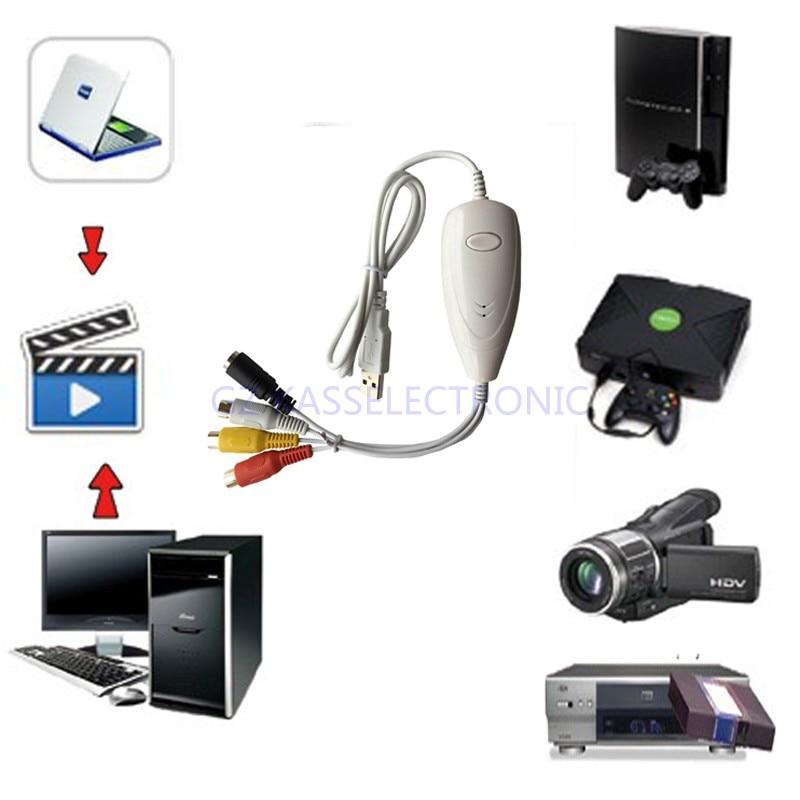 2017 nouveau convertisseur VHS vers DVD pour MAC PC, convertir vieux VHS, Hi8, caméscope vers ordinateur, livraison gratuite - 2