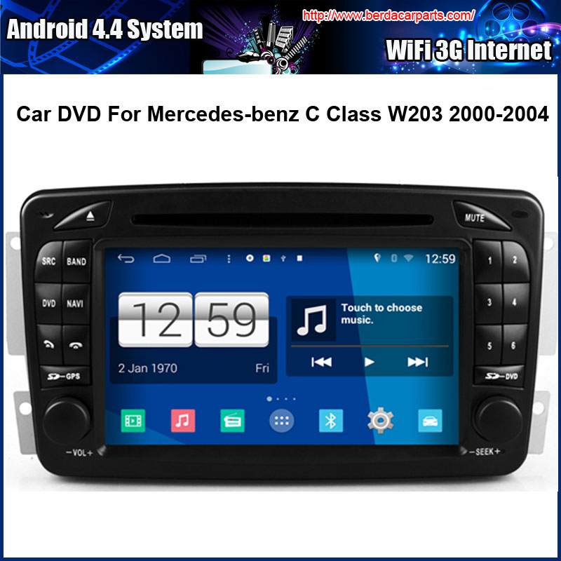 Android car dvd player for mercedes benz w203 2000 2004 for Mercedes benz app for android