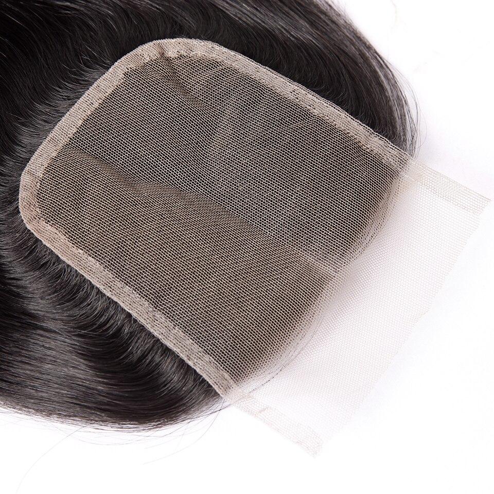 HTB1edOWboz1gK0jSZLeq6z9kVXaR Cexxy Straight Bundles With Closure Brazilian Hair Weave Bundles With Closure Human Hair Extension Long Hair 8-34 36 38 40Inch