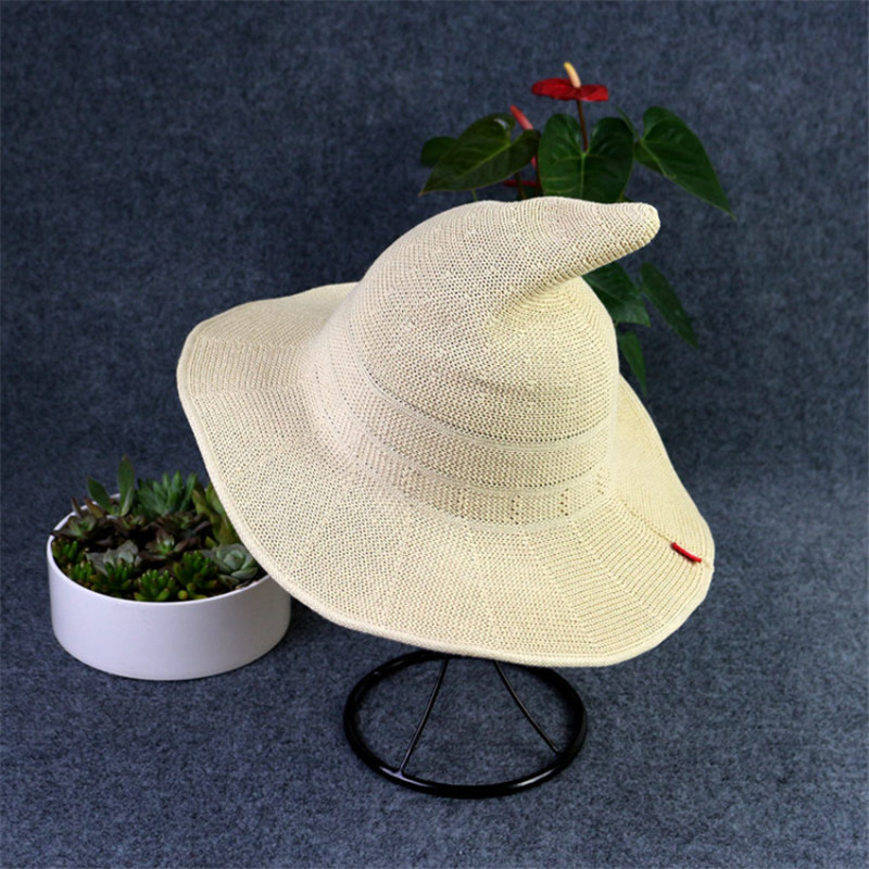 Nya Sommar Kvinnor Sol Kepsar Mode Kepsar Häxa Hatt Kepsar Hinkar - Kläder tillbehör - Foto 3