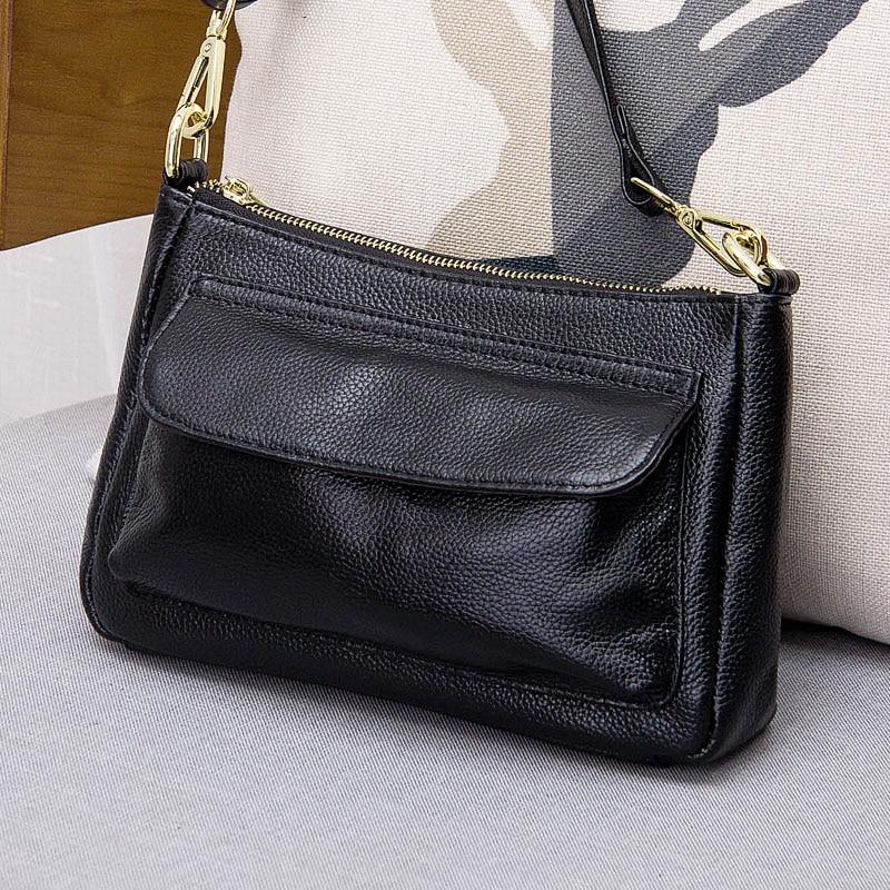 hot sale 2017 New fashion lady genuine leather handbag shoulder bag soft leather messenger bag #148 memunia new arrive hot sale genuine