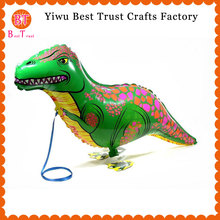 1000 pcs/lot walking Dinosaur balloons helium walking Animal baloons for birthday party decorations kids Dinosaur foil ballons цена и фото