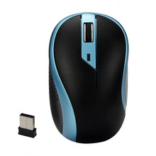 Mini 2.4GHz Wireless Optical Gaming Mouse Cute Small Cordless Mouses For PC Laptop May28