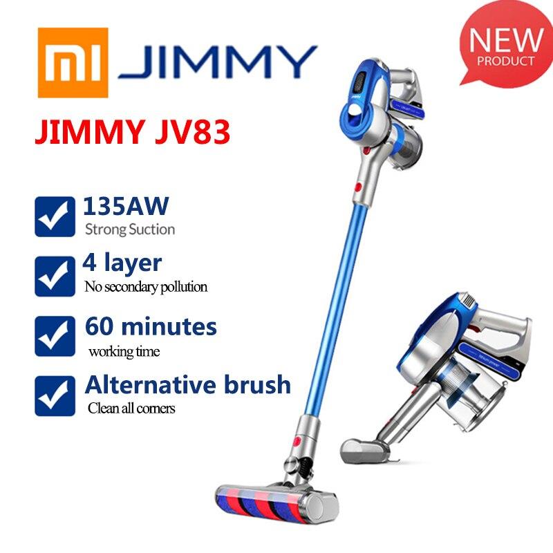 Xiaomi JIMMY JV83 20KPa Do Motor 135W Forte Poder Aspirador de pó Sem Fio Digital Grande de Sucção Aspirador de Pó Coletor de pó Para Home