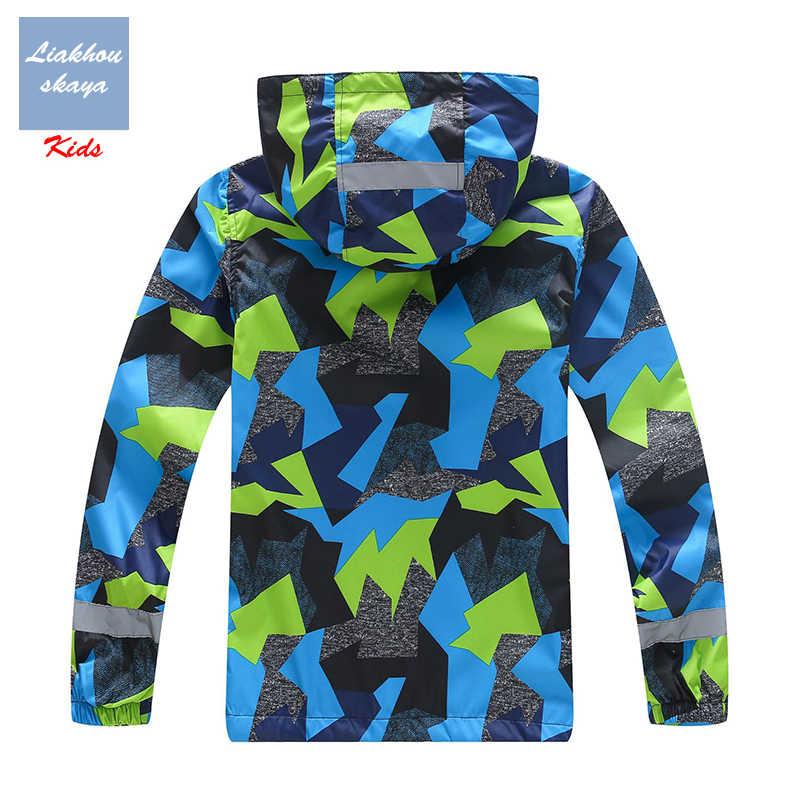 Liakhouskaya 2019 חדש אביב ילדי מעיל ילד ילדים חם בגיל ההתבגרות מעיל ילדים צמר מעילי מים הוכחת קוריאני בגדים