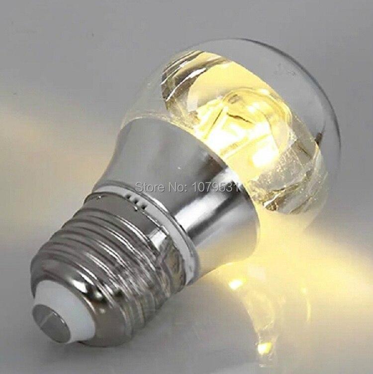 110 В-220 В E14 E27 g45 g80 G95 G125 покрытием Отражатели лампы гальванических лампа Новый наушников светодиодные огни лампы ...