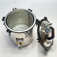 18L Stainless Steel Pressure Steam Autoclave Sterilizer Auto Claves Autoclaves