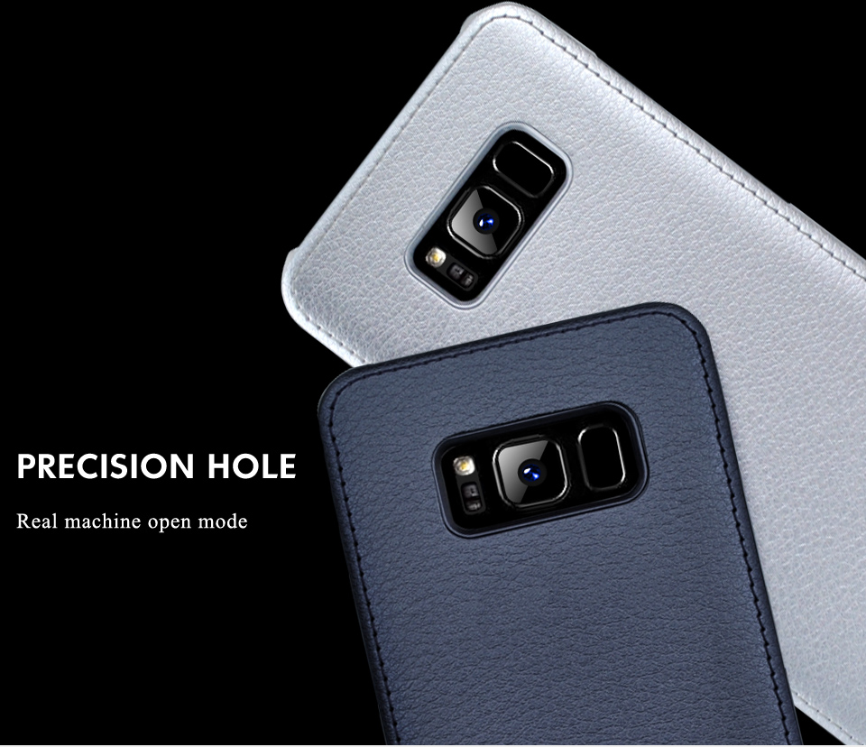For Samsung Galaxy S8 Case Leather Luxury Cover Case For Samsung Galaxy S8 S8 Plus Case S8 S8 Plus Original Hard Back NKOBEE (5)