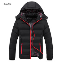 FALIZA 2017 Men Winter Jacket Warm Male Coats Fashion Thick Thermal Men Parkas Casual Men Branded Clothing Plus Size 6XL SM MY G