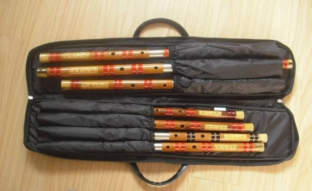 Dizi Bamboo Flute Case Bag Cover Free Shipping