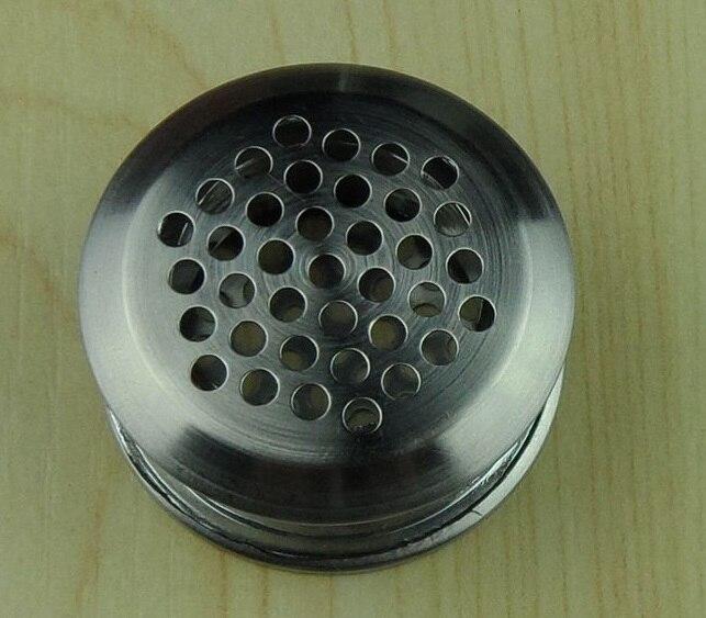 50Pcs/Lot Premintehdw Stainless Steel Air Vent Ventilator Round Ventilation For Closet Shoe Cabinet  Butt Male Female Sex Style