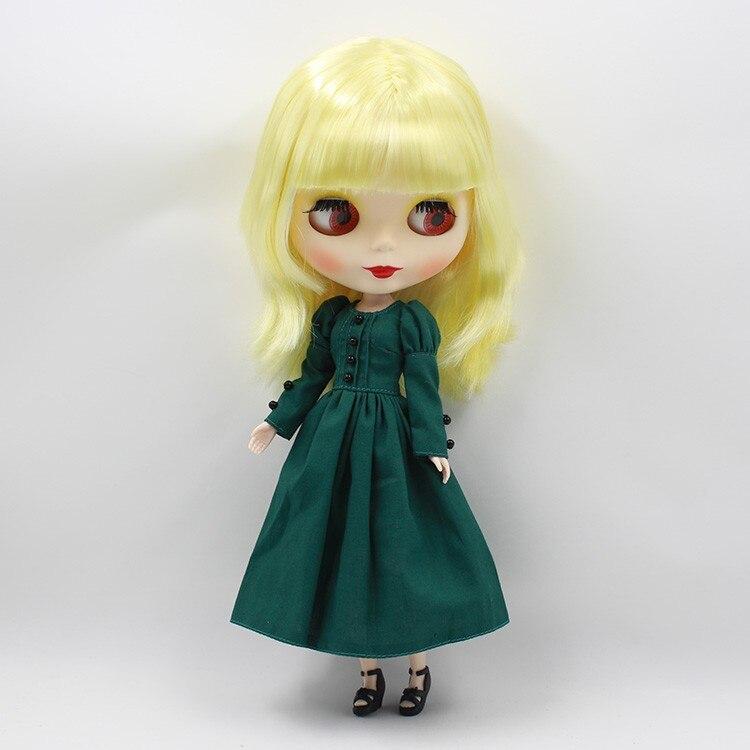 Neo Blythe Doll Vintage Dress 5