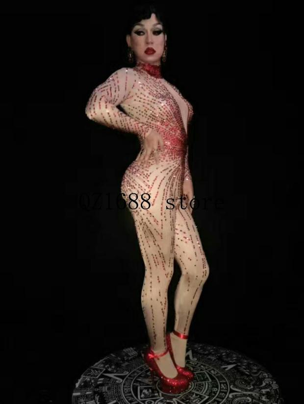Novo 100% látex borracha moda feminina sexy branco e vermelho saia terno 0.4mm tamanho XXS XXL - 2