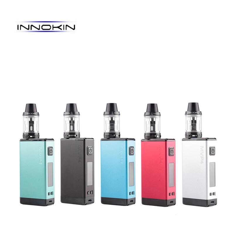 цена на 100% Original Innokin MVP4 SCION Kit 100W 4500mAh Battery mod 3.5ml Scion Tank Vaporizer Vape Hookah Electronic Cigarette kit