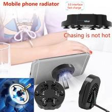 Portable Radiator Gamepad Holder Mobile Phone Cooler Cooling Fan Heat Sink Mute