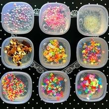 6 cm 1 STÜCKE Früchte Candy Kristall Schleim DIY Schlamm Squishy Shiny Schlamm Ton Knetmasse Plastilin Kinder Antistress Zappeln Relief Spielzeug