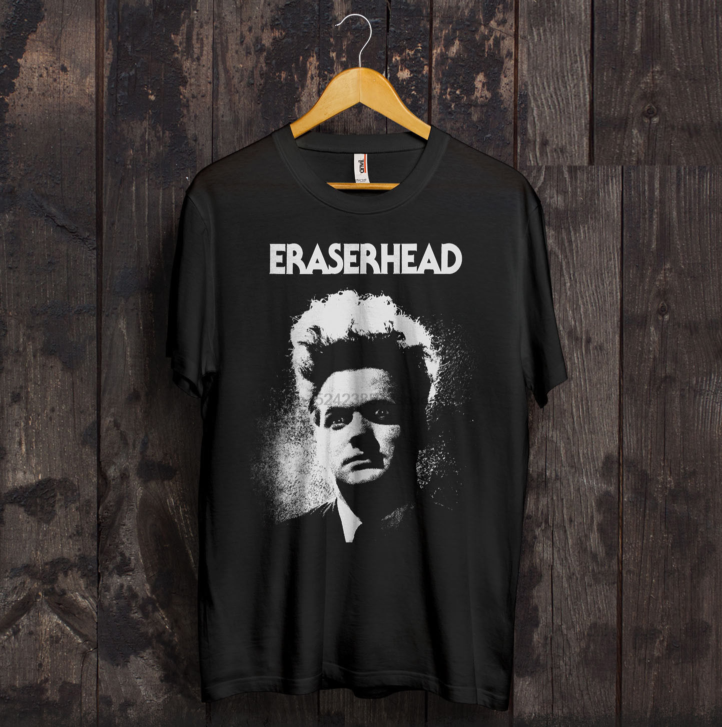 Eraserhead T Shirt David Lynch Cult Horror Movie Twin Peaks Gift S-XXXL Novelty Cool Tops Men Short Sleeve T-Shirt Top Tee image