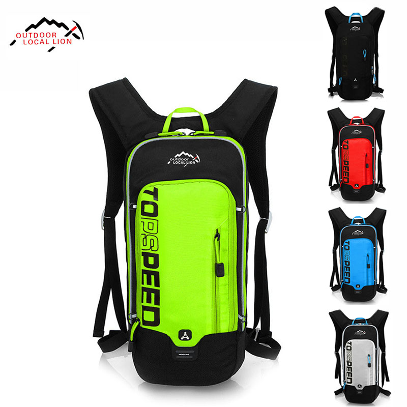 6L Waterproof Bicycle Backpack,Men's Women MTB Bike Water Bag,Rainproof Nylon Cycling Hiking Camping Hydration Backpack For Bike