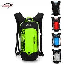 LOCAL LION 6L Waterproof Bicycle Backpack, Men's Women MTB Bike Water Bag, Nylon Cycling Hiking Camping Hydration Backpack