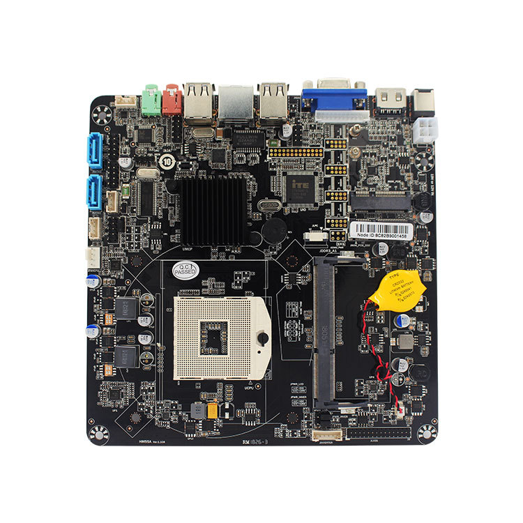HM55 motherboard mini motherboard Main board main board pos advertising machine board support I3/I5/I7 main