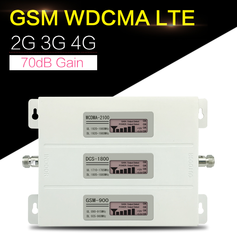 Repeatnet R23A GDW Mobile Signal Booster 2G 3G 4G GSM DCS LTE WCDMA 900 1800 2100