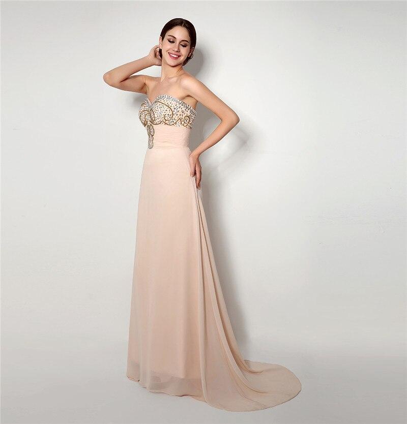 Forevergracedress haute qualité robe de bal magnifique chérie en mousseline de soie perles cristaux robe de soirée formelle grande taille sur mesure - 3