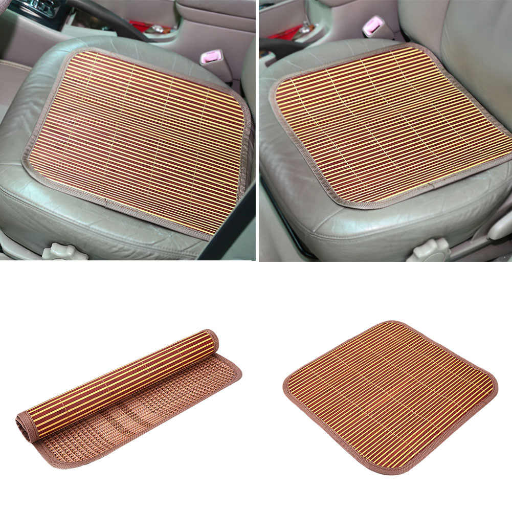 Bamboo Car Auto Front/Back Seat Chair 40cm Width Cover Cushion Mat Summer Cool