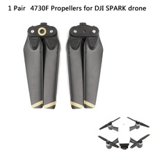 1 pair 4730F Propellers Quick Release Foldable Props CW CCW Blade Replacement For DJI Spark Drone