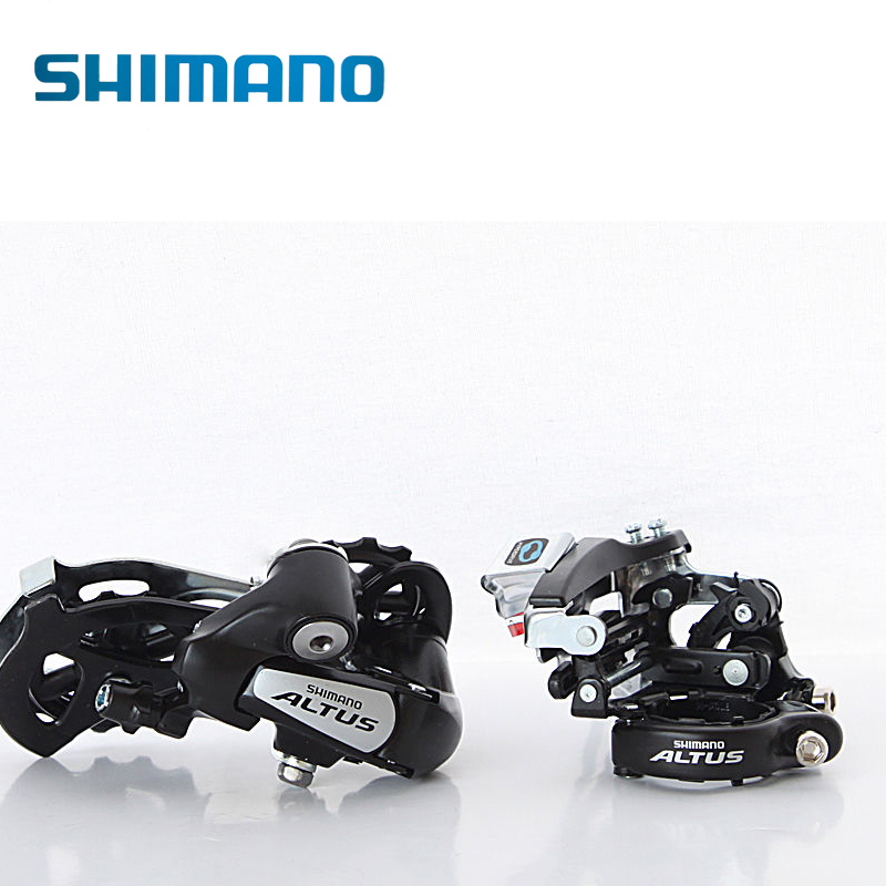 SHIMANO Cycling MTB Mountain Road Bike Bicycle Front Derailleur FD-M310 & Rear Derailleur RD-M310 7/8S Black Bike Bicycle Parts shimano deorext fd m780 m781 front transmission mtb bike mountain bike parts 3x10s 30s speed