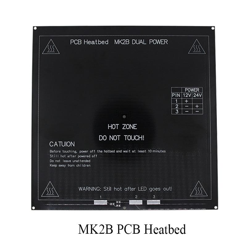 New RepRap 3D Printer PCB Heatbed MK2B Heated Bed Hot Plate For Prusa&Mendel MK2A MK1 Black Color