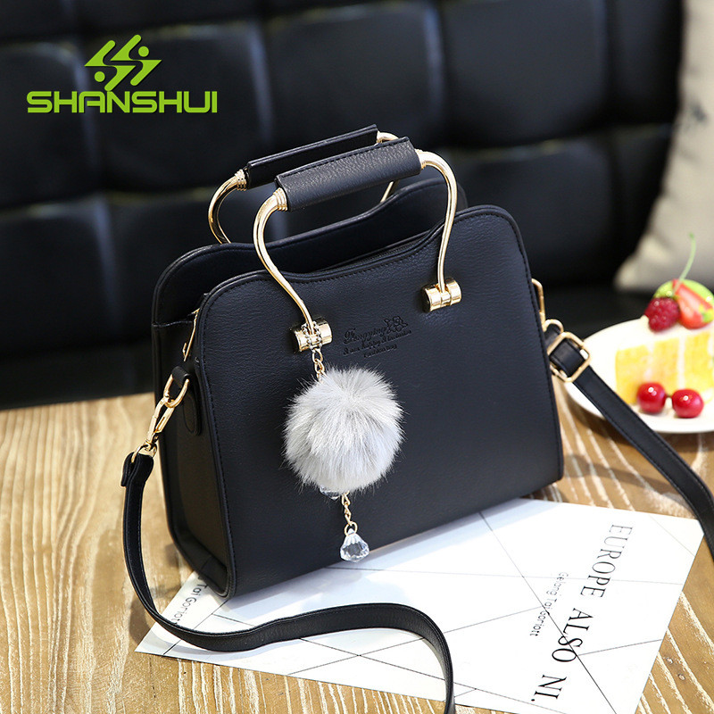 SHANSHUI Women Wallet Zipper Handbag Crossbody PU Leather Shoulder Purse Clutch New Top Brand 2017 Fashion Female Messenger Bag fashion new design pu leather lotus wave female chain purse shoulder bag handbag ladies crossbody messenger bag women s flap