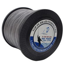AZJ Brand Power Strong Braided Fishing Line 8 Strands 500m Japan Multifilament PE 12LB-200LB Peche