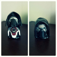 Star Wars Helmet Storage Box Star Wars Darth Vader Stormtrooper PVC Action Figures Wristwatch Box Collectible