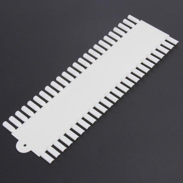 100PCS 48 Grids Acrylic False Nail Art Tips Nail Polish Color Display Wheel Practice Show Board Holder Shelf Nails Tools F0031