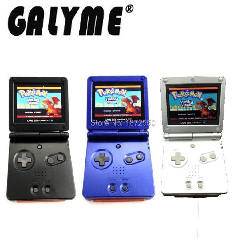 Hot Sale 3 Color Rrefurbished Fit For GameBoyAdvance SP Game Console AGS-101 Backlight Backlit Screen Boy Advance SP Cover Case