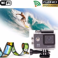 4K Full HD 1080P Cam Sport Action Mini Wifi Camera Diving Outdoor Waterproof Video Sound Audio