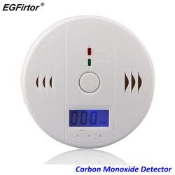 Охранных ЖК-дисплей детектор угарного газа независимых угарного газа Сенсор 85dB Предупреждение-up Высокочувствительный отравление